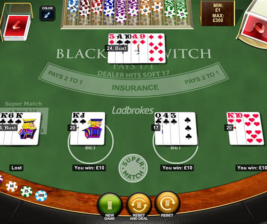 Free bet blackjack vs blackjack switch poker server source code
