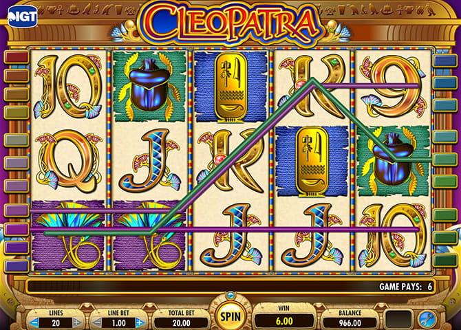 cleopatra online slot quasar casino