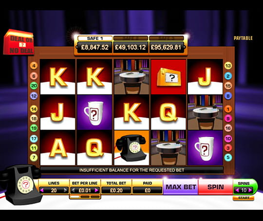 Deal Or No Deal Slots