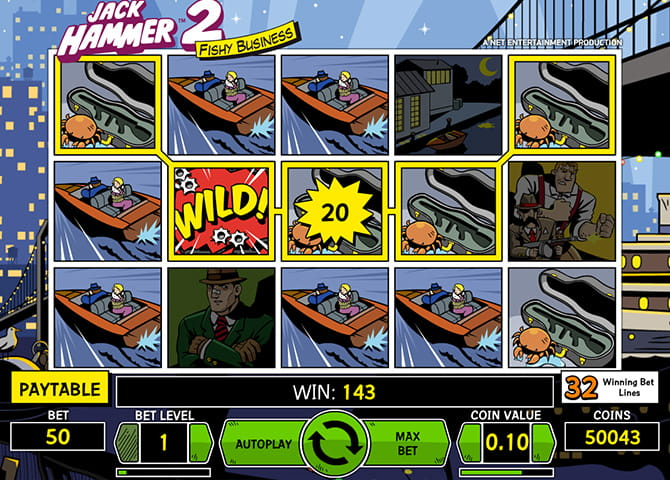Play Jack Hammer 2 Slot Online at Casino.com UK