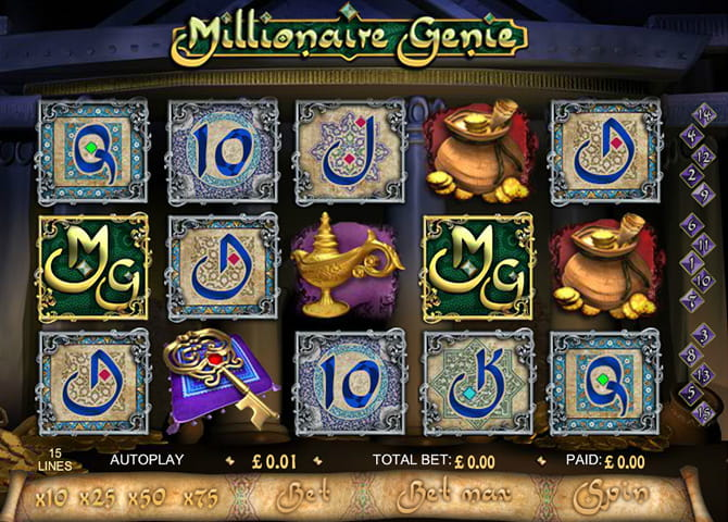 Millionaire Genie Online Slot - Try the Free Demo Game