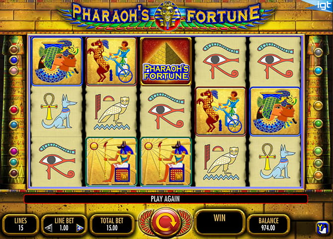 Pharaoh's Fortune Slots - Play the Online Slot for Free