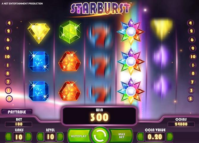 Starburst slot free play